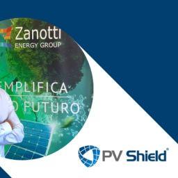 Zanotti Energy Group completa l'acquisizione del 100% delle quote di PV Shield srl.