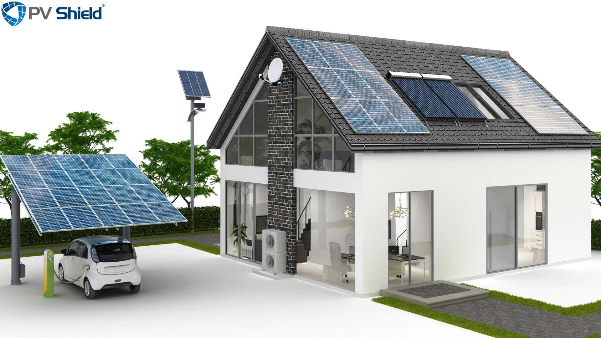 Charge Your Electric Car Pv Shield