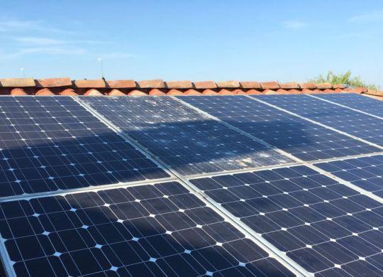 pannello fotovoltaico grandine